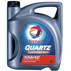 Купить Моторное масло (полусинтетическое) Total Quartz 7000 10W-40 4л в Интернет магазин запчастей АСПК / Auto Spare Parts Kiev - Aspk.In.Ua