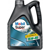 Моторное масло (минеральное) Mobil Super 1000 15W-40 4л
