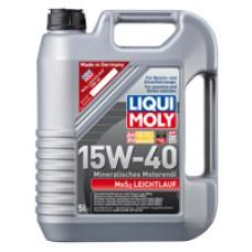 Купить Минеральное моторное масло - MoS2 Leichtlauf SAE 15W-40 5 л. в Интернет магазин запчастей АСПК / Auto Spare Parts Kiev - Aspk.In.Ua