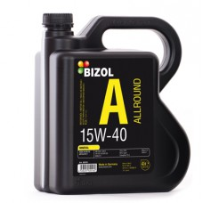 Купить Минеральное моторное масло - BIZOL Allround 15W40 4л в Интернет магазин запчастей АСПК / Auto Spare Parts Kiev - Aspk.In.Ua